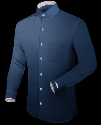 Kleidung Online Schneidern with Italian Collar 1 Button