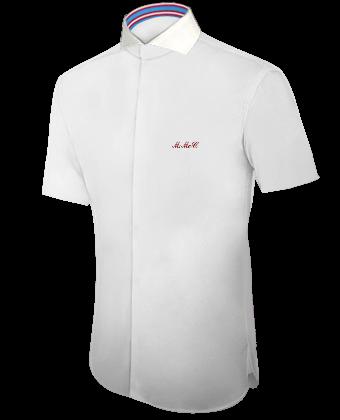 Kleidung Selbst Designen with Cut Away 1 Button