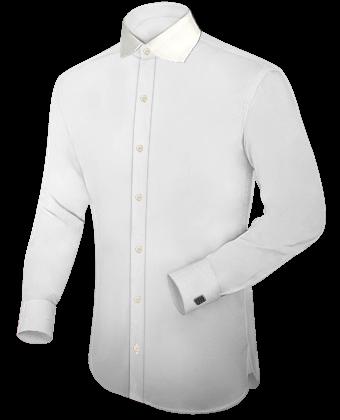 Kragenlose Hemden Selbst Designen with English Collar