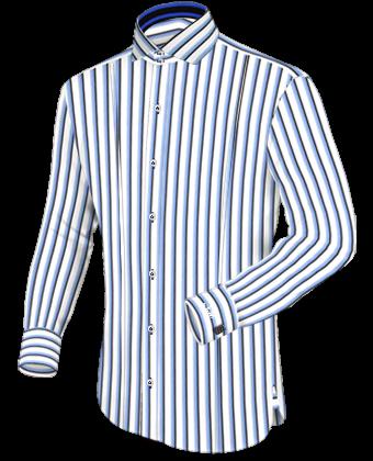 Liefert Masshemden with Italian Collar 2 Button