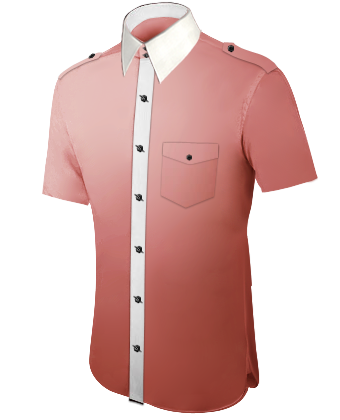Machs Dir Selbst Hemd with French Collar 2 Button