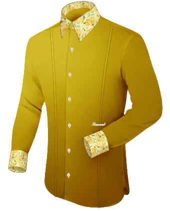 Mass Oberhemd with French Collar 2 Button