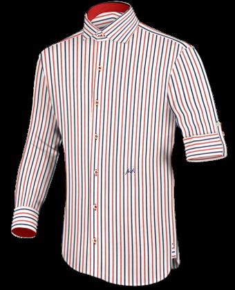 Massgeschneidert Hemd with English Collar