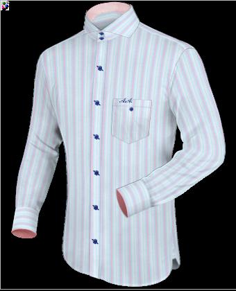 Ma��geschneiderte Kleidung with Cut Away 2 Button