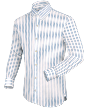 Ma��hemd Paisly with French Collar 1 Button