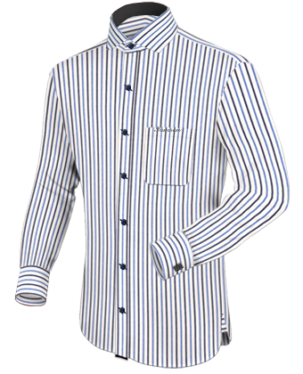 Ma��hemd Piccadilly with Italian Collar 1 Button