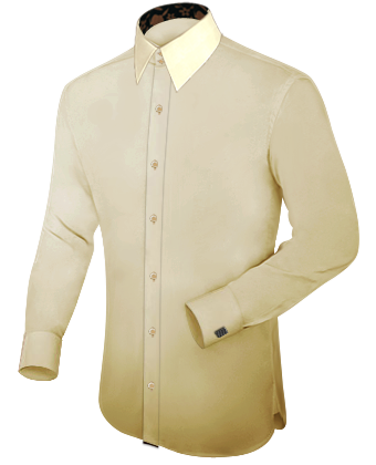 Masshemden Hannover with French Collar 2 Button