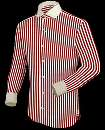 Masshemden Herren with Italian Collar 2 Button