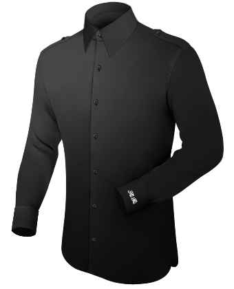 Ma��hemden L�neburg with French Collar 1 Button