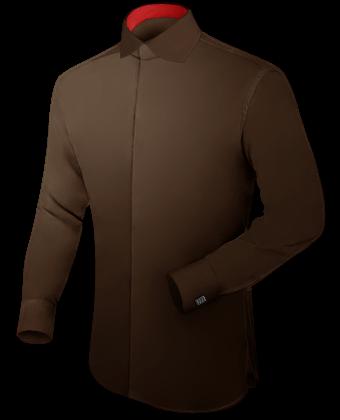 Ma��hemden Manufaktur with English Collar