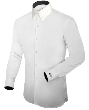 Masshemden N�rnberg with French Collar 1 Button