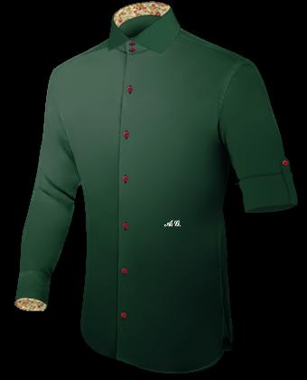 Ma��hemden Online Gr.36 with Italian Collar 2 Button