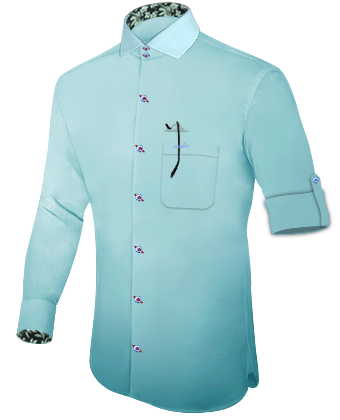 Ma��leidung Online with Italian Collar 2 Button