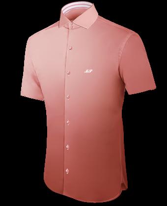 Ma��oberhemden In Deutschland with Italian Collar 2 Button