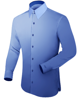 Ma��schneider Mode Online with French Collar 2 Button