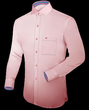 Ma��schneiderei Online with Italian Collar 1 Button