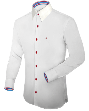 Mode Nach Mass Rems Murr Kreis with French Collar 2 Button