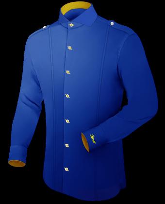 Mustervorlagen Schnittformen Hemden with Cut Away 1 Button