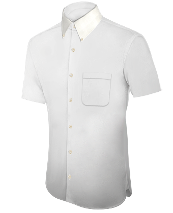 Oberhemd T�rkis 128 with Button Down
