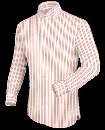 Oberhemden F�r Breite Schultern with Italian Collar 2 Button