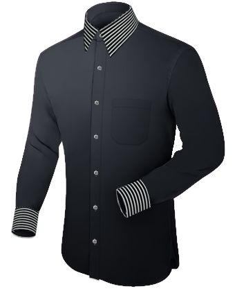 Oberhemden G�nstig with French Collar 1 Button