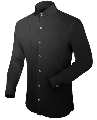 Oberhemden Hersteller with Italian Collar 2 Button