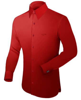 Oberhemden Veredelung with French Collar 2 Button