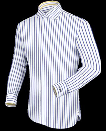 Oberhemdenden with English Collar