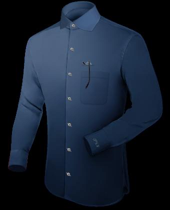Oberhemdenma��tabelle with English Collar