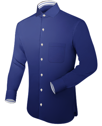 Oberhemd Lang with Italian Collar 1 Button