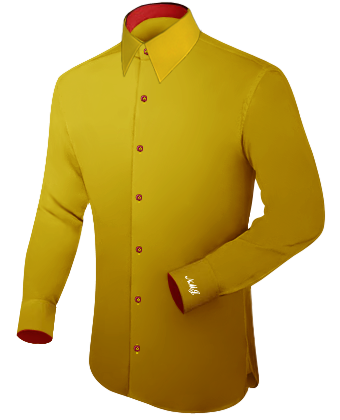 Online Masskleidung with French Collar 1 Button