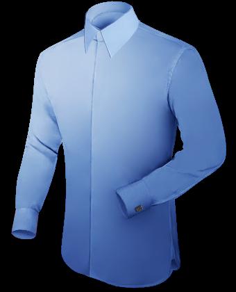 Online Ma��schneidern with French Collar 2 Button