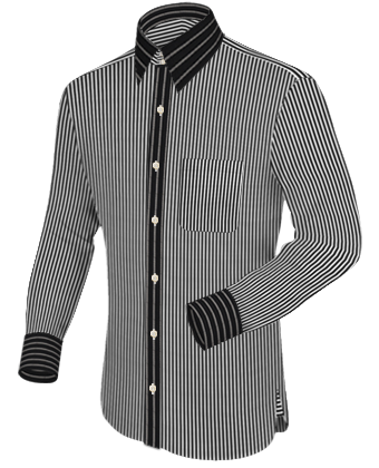 Outlett F�r Oberhemden with French Collar 2 Button
