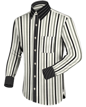 Party Oberhemd with French Collar 2 Button