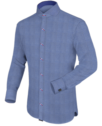 Qualit�t Stoff Itailor with Cut Away 1 Button