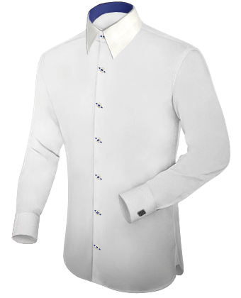 Quality Shirts with French Collar 1 Button