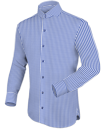 Rhode Island Hemd with Cut Away 2 Button