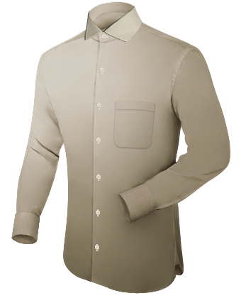 Shirt Makers with Italian Collar 1 Button
