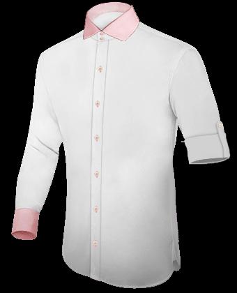 Slimline Hemden Online with Italian Collar 2 Button