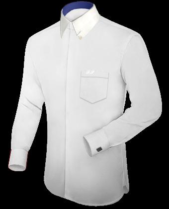 Sondergr���en Herren Hemd with Hidden Button