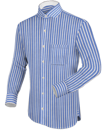 Surano Hemd with Italian Collar 1 Button