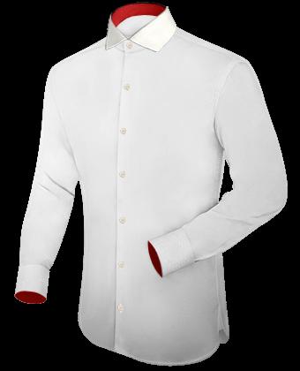 Suche Restmengen Herrenhemd Langarm with Italian Collar 1 Button