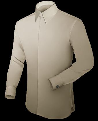 Tab Kragen Hemd Selber Machen with French Collar 1 Button