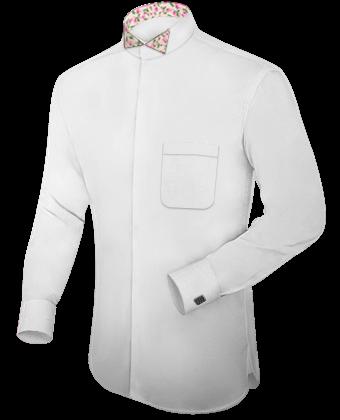 Tailiertes Hemd with Tuxedo