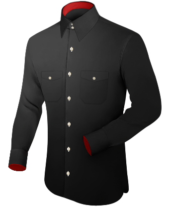 Tailor Masshemnde with French Collar 2 Button