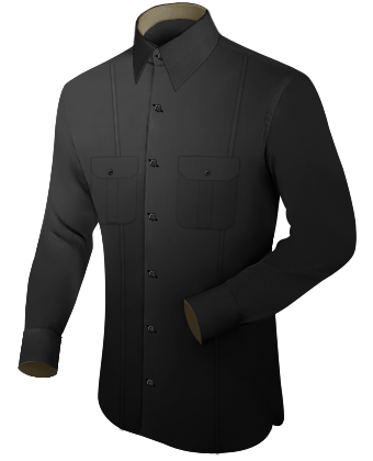 Tailored Shirts Uk with French Collar 1 Button
