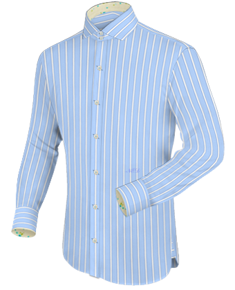 Teamkleidung with Italian Collar 2 Button