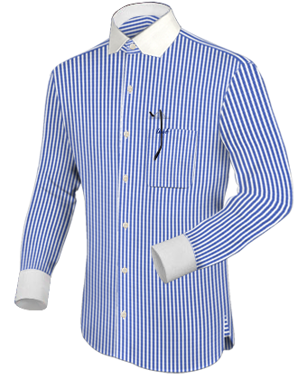 Uniformhemd Musikverein with Modern Collar
