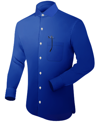 Vaterm�rderhemd with Italian Collar 1 Button