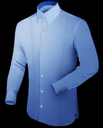 übergr���en Hemden with French Collar 1 Button
